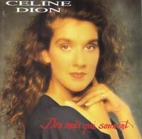 """Céline Dion  """"  Des Mots Qui Sonnent  """" - Music & Instruments"""