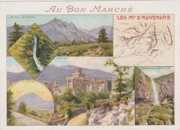 AU BON MARCHE CHROMO CHEVALET ETAT CF SCAN - Au Bon Marché