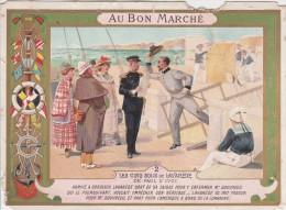 AU BON MARCHE CHROMO LE CIND SOUS DE LAVADERE ETAT CF SCAN - Au Bon Marché