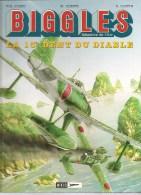 Album N°9 Biggles Détective De L´Air  La 13e Dent Du Diable W.E. JOHNS M. OLEFFE E. LOUTTE. Edition MIKLO S.A. De 1999 - Biggles