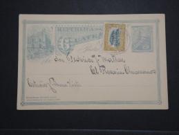 GUATEMALA - Entier Postal Commercial Avec Complément D Affr. En 1910 - A Voir - Lot P14553 - Guatemala