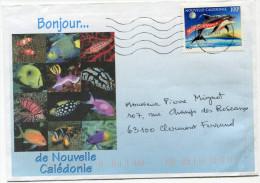 NOUVELLE-CALEDONIE LETTRE DEPART NOUMEA-MAGENTA 26-8-99 POUR LA FRANCE - Neukaledonien