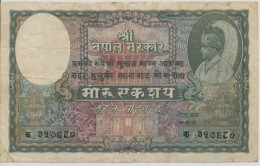 NEPAL  P. 7 100 M 1951  VF - Nepal