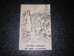 LE ROI ALBERT ET SES SOLDATS Régionalisme Guerre 14 18  Belgique Catalogue Exposition Musée De L´Armée Cinquentenaire - Guerre 1914-18