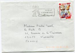 NOUVELLE-CALEDONIE LETTRE DEPART NOUMEA 14-4-2003 RIVIERE SALEE POUR LA FRANCE - Neukaledonien