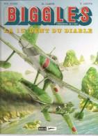 Album N°9 Biggles Détective De L´Air La 13 è Dent Du Diable Par W.E. JOHNS M. OLEFFE E. LOUTTE. Ed. MIKLO S.A. De 1997 - Biggles