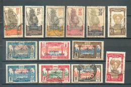 GAB 297 - YT 88-89-91-94-95-96-97 (*)-100 à 103-105-106 Obli - Gabun (1886-1936)