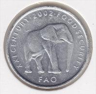@Y@   Somalia  5 Shilling 2002 F.A.O.    Olifant    (2889) - Somalie