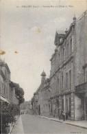 POLIGNY JURA  16 GRANDE RUE ET L'HOTEL DE VILLE  EDIT. M.D. NON  ECRITE DOS VERT - Poligny