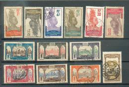 GAB 303 - YT 49-50(*)-51-52-53-54(*)-56-57-58-59-60-62-63 Obli - Gabon (1886-1936)