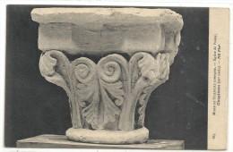 .885. MUSEE DE SCULTURE COMPAREE .. EGLISE DE POISSY .. CHAPITEAU ( XIIe /S ).. Non Ecrite - Poissy
