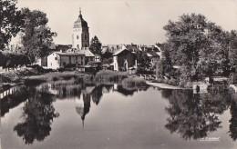 Pontarlier 25 - Vue Générale Reflets Sur Le Doubs - 1955 - Pontarlier