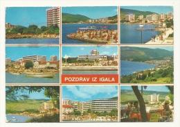 Cp, Slovaquie, Pozdrav Iz Igala, Multi-Vues, Voyagée 1981 - Slovaquie
