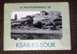 Carnet 10 Photos - Ksar Es Souk ( Errachidia Drâa Tafilalet ) Maroc Afrique Editions La Cigogne - Maroc