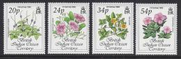 FLORES  - BRITISH INDIAN OCEAN TERRITORY 1993 -  Yver139/42  Precio Cat€7 - Vegetales