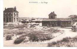 Environs De Camiers (Etaples-Pas De Calais)-Saint-Gabriel-La Plage-Vieille Voiture-Animée -CPA Pas Très Courante - Etaples
