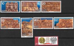 DDR 1970 / MiNr.  1584 -  1590 , 1591   ** / MNH   (b1364) - Nuevos