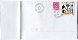 NOUVELLE-CALEDONIE LETTRE AVEC OBLITERATION NOUMEA-R.P. MARINE 8-2-1999 Nelle CALEDONIE - Nueva Caledonia