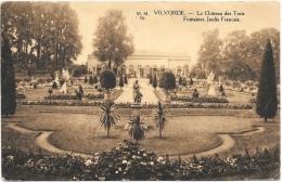Vilvorde NA3: Le Château Des Trois Fontaines. Jardin Français 1920 - Vilvoorde