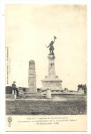 Cp, 51, Valmy, Statue De Kellerman Et Monument Commémoratif De La Victoire De Valmy - 20 Sept. 1792, écrite - Other Municipalities