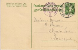 Aviateur - Poste Aérienne Lausanne-Morges 1913- Rare - Timbres