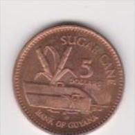 GUYANA   5 DOLLAR   ANNO 2005 UNC - Guyana
