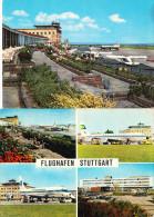 AIRPORT STUTTGART-2 POSTCARDS - Aerodromi