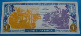 PREFIX *ΔC* - 1 SRBIJANKA 1991 UNC, RARE. - Serbie