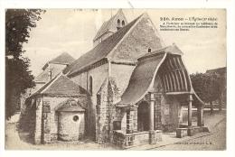 Cp, 77, Avon, L'Eglise, Voyagée 1920 - Avon