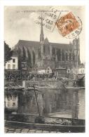 Cp, 80, Amiens, Cathédrale, Côté Nord, Voyagée 1928 - Amiens