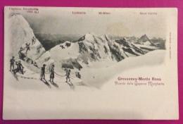 GRESSONEY - MONTE ROSA - RICORDO DELLA CAPANNA MARGHERITA - NON VIAGGIATA - Aosta