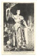 Cp, Célébrité, Jeanne D´Arc Assistant Au Sacre De Charles VII - Femmes Célèbres