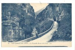 Cp, 06, Les Gorges Du Loup, La Nouvelle Route Et Le Loup - Frankrijk