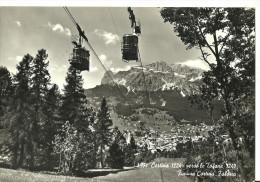 """Cortina D´Ampezzo (Belluno) Funivia Cortina - Faloria, Al Tergo """"XXXI Congresso Di Esperanto"""" 10-16 Settembre 1960 - Esperanto"""