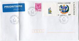NOUVELLE-CALEDONIE LETTRE AVEC OBLITERATION SARRAMEA-GA 8-2-1999 Nelle CALEDONIE - Neukaledonien