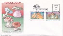 MICOLOGIA SPD DE ESPAÑA DE UNAS SETAS DEL AÑO 1994 (SETA-MUSHROOM-FUNGO) - Hongos