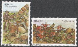South Africa. 1981 Centenary Of Battle Of Anajuba. MNH Complete Set SG 488-489 - South Africa (1961-...)