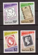 St. Lucia , 1979 , Mi.Nr. 467 - 470 ** / MNH - St.Lucia (1979-...)