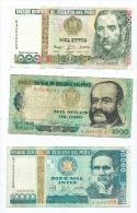 Lot De 3 Billets Du Pérou   (2 Scans ) - Pérou