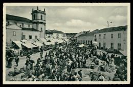 VILA NOVA DE OUREM- FEIRAS E MERCADOS - Trecho Do Mercado ( Ed. Loja Do Povo ) Carte Postale - Santarem