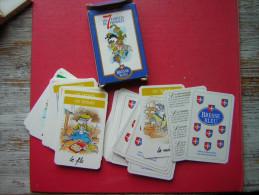 JEU / JEUX DE CARTES LES 7 FAMILLES DE FROMAGES  PUB BRESSE BLEU  AVEC LA BOITE EN CARTON 42  CARTES + 1 PRESENTATION - Jeux De Société