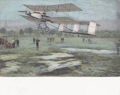CPA Henri FARMAN Battant Le Record De L' Aéroplane Aviateur Aviation Avion Fly  Illustrateur - Aviatori