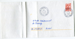 NOUVELLE-CALEDONIE LETTRE DEPART OUEGOA 7-9-2001 POUR LA FRANCE - Neukaledonien