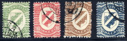 NORDINGERMANLAND 1920 Arms 5p To 50 P Used.  Michel 1-4 - Finland