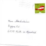 Brief Von 6000 Briefzentrum Tirol Mit Marke Standard - Inland 2015 - 2011-... Briefe U. Dokumente