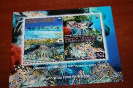 WWF  Grenada Carriacou  Rare Mini-block  Marine Life - Marine Life