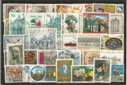 ITALIE. 50 Beaux Timbres Oblitérés  Grands Formats D'Italie - Timbres