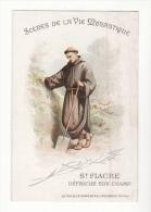Chromo  AIGUEBELLE   Scènes De La Vie Monastique   Saint Fiacre - Aiguebelle