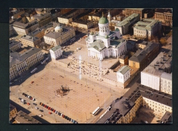 FINLAND  -  Helsinki  Helsingfors  The Cathedral  Used Postcard As Scans - Finland