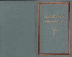 Namur / Namen / Certificat D' Apprentissage / 1939 - Documents Historiques